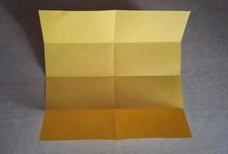 彩色立方体折纸教程 手工折纸-第4张