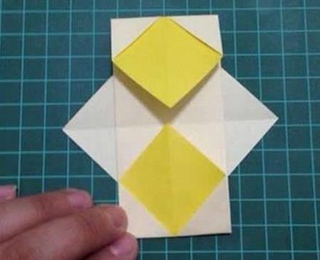 折纸灯笼立体简单做法 手工折纸-第6张
