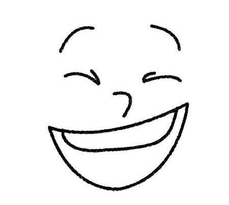 人物表情简笔画的画法步骤 人物-第4张