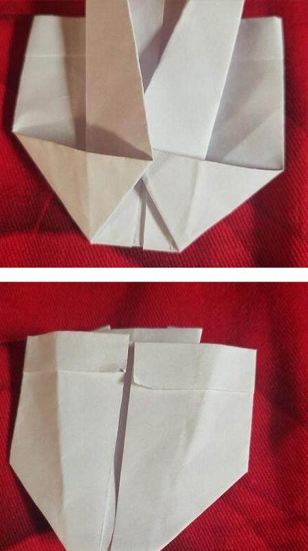 手工折纸西装步骤图解法 手工折纸-第6张