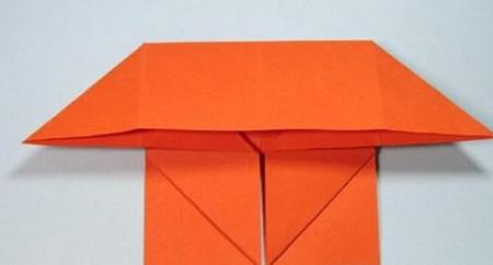 带翅膀爱心的折法图解 手工折纸-第10张