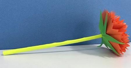 折纸康乃馨的步骤图 手工折纸-第1张