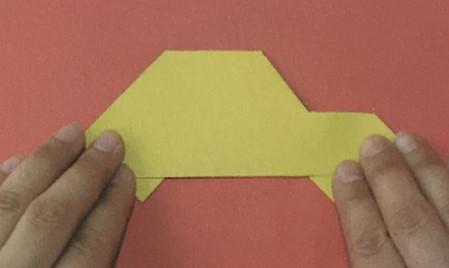 儿童手工折纸汽车步骤图解 手工折纸-第5张