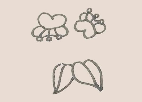 蝴蝶兰花朵简笔画的画法 中级简笔画教程-第8张