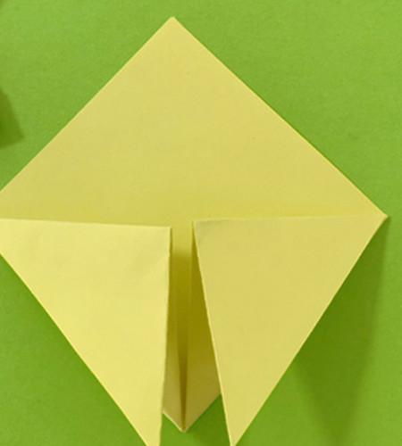愤怒的小手工折纸步骤图 手工折纸-第5张