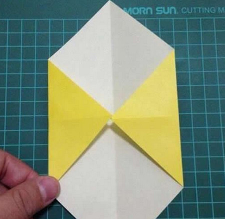 折纸灯笼立体简单做法 手工折纸-第3张