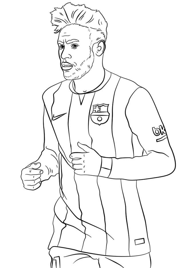 足球运动员简笔画图片 人物-第2张