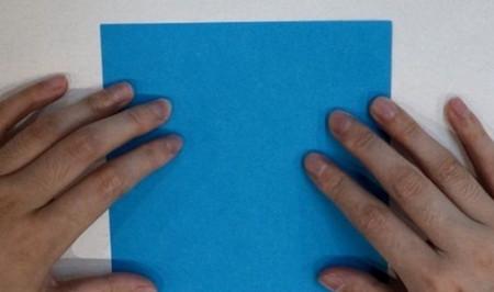 千纸鹤盒子的折法步骤图 手工折纸-第2张