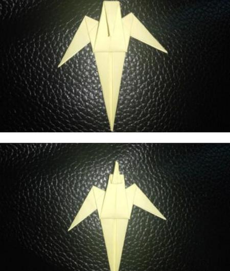 手工折纸小燕子步骤图解 手工折纸-第9张