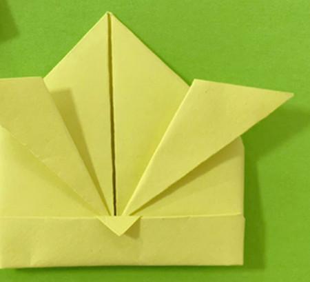 愤怒的小手工折纸步骤图 手工折纸-第12张