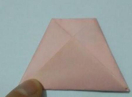 小猫指套折纸步骤图 手工折纸-第6张