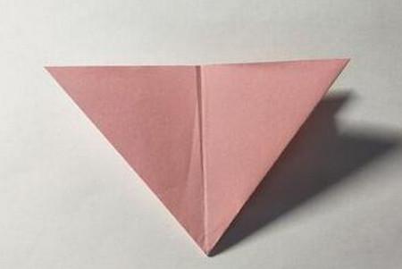 五角星花折纸教程图解 手工折纸-第7张