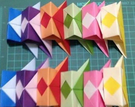 折纸灯笼立体简单做法 手工折纸-第11张