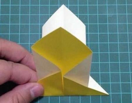 折纸灯笼立体简单做法 手工折纸-第5张
