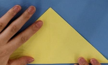 小狗儿童手工折纸步骤图解法 手工折纸-第2张