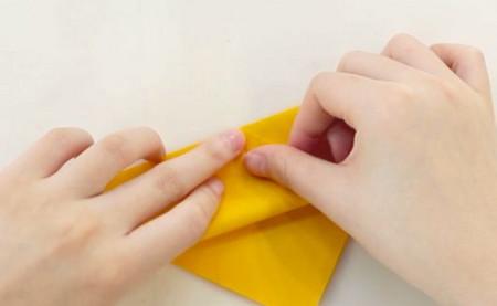 老虎书签的手工折纸图解步骤 手工折纸-第2张