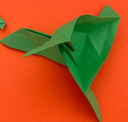 回力标折纸教程图解 手工折纸-第14张