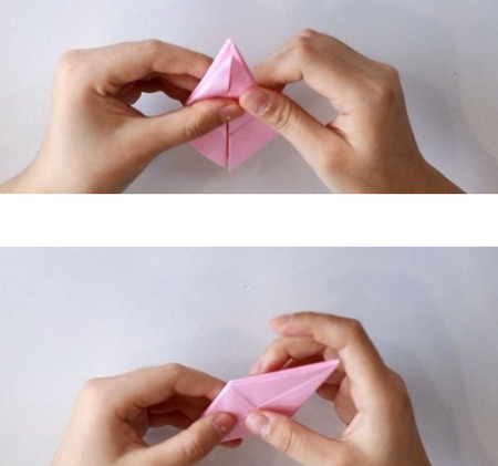 手工折纸立体章鱼怎么折图解 手工折纸-第4张