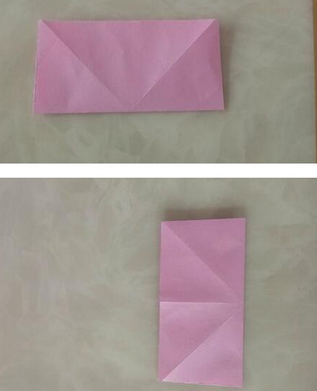 折纸陀螺步骤图 手工折纸-第3张