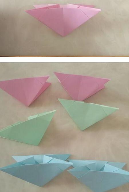 折纸陀螺步骤图 手工折纸-第8张