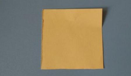 小椅子折纸步骤图解 手工折纸-第2张