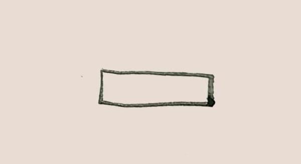 三叶草盆栽简笔画画法教程 中级简笔画教程-第2张