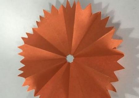 折纸康乃馨的步骤图 手工折纸-第9张