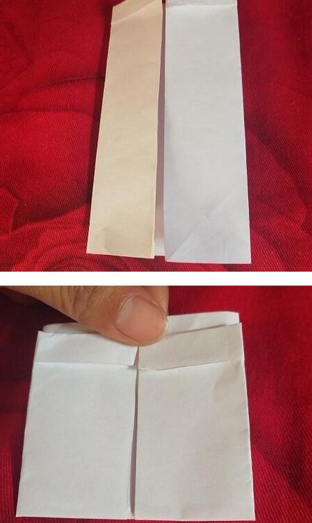 手工折纸西装步骤图解法 手工折纸-第4张