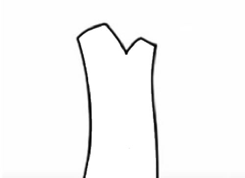 苹果树简笔画儿童画法 中级简笔画教程-第2张