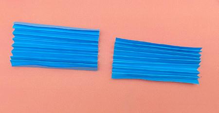 手工折纸礼服裙子步骤图解 手工折纸-第4张