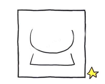 敬礼的军人简笔画画法步骤 中级简笔画教程-第2张