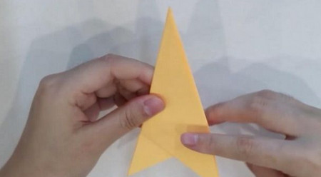 帽子手工折纸步骤图解 手工折纸-第4张