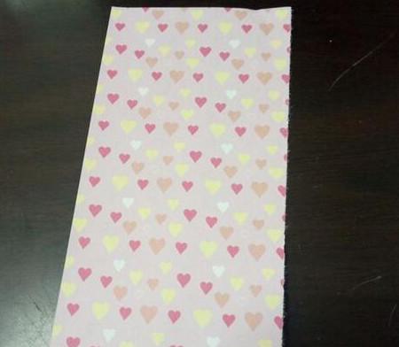 爱心笔帽的折法图解 手工折纸-第2张