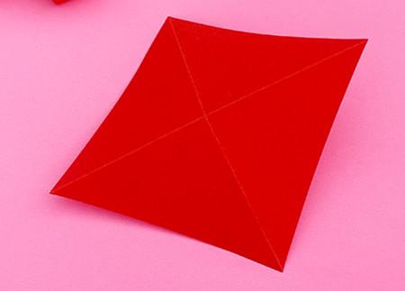 折纸樱桃步骤图解法 手工折纸-第3张
