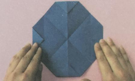 火箭折纸步骤图解 手工折纸-第2张