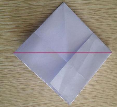 折纸宇宙飞船图解 手工折纸-第5张