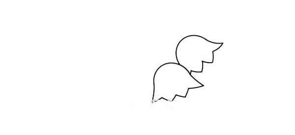 彩色的铃兰花简笔画 中级简笔画教程-第3张