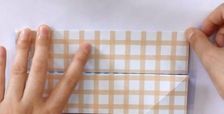 八瓣花手工折纸步骤图解法 手工折纸-第4张