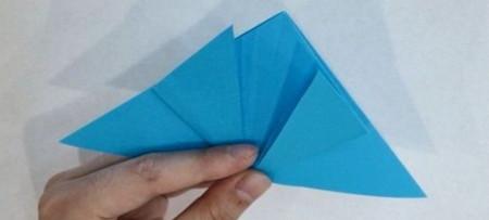 儿童手工折纸蝴蝶的步骤和图解 手工折纸-第5张
