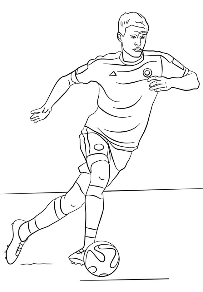 足球运动员简笔画图片 人物-第9张