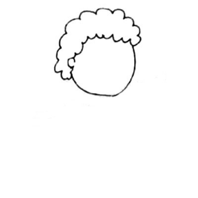 戴口罩的人简笔画 中级简笔画教程-第2张