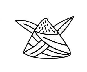 粽子简笔画图片