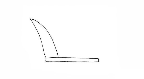 画法步骤芦苇 芦苇简笔画彩色画法步骤教程 植物-第3张