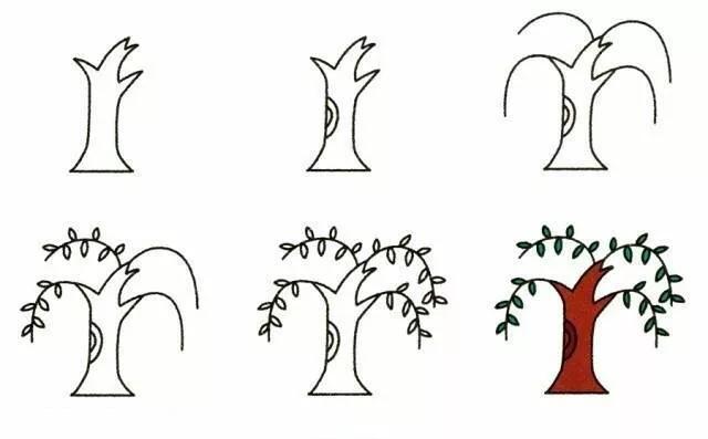 9种植物简笔画超详细教程 初级简笔画教程-第5张