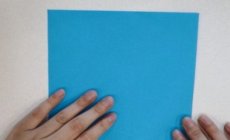 儿童手工折纸蝴蝶的步骤和图解 手工折纸-第2张