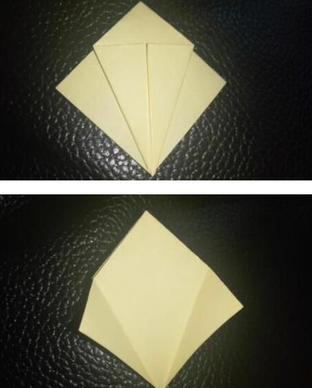 手工折纸小燕子步骤图解 手工折纸-第3张