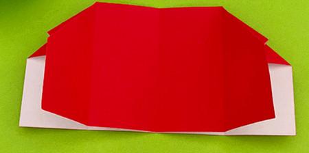 帐篷折纸方法图解 手工折纸-第8张