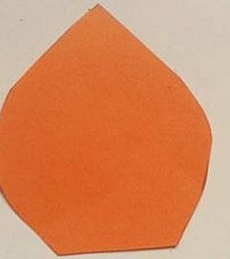 马蹄莲花折纸步骤 手工折纸-第3张