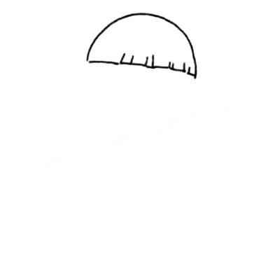 活泼可爱的小男孩简笔画画法 中级简笔画教程-第2张