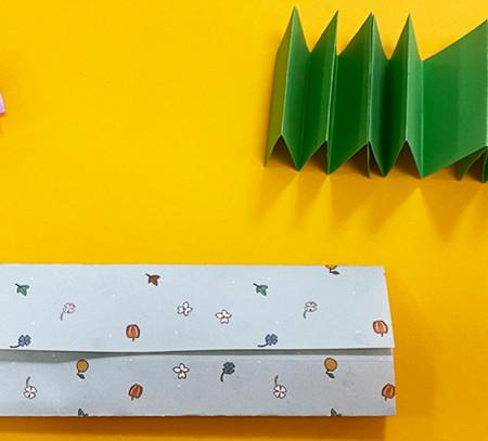 书本折纸方法图解 手工折纸-第7张